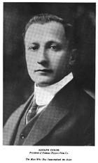Adolph Zukor photo