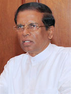 Maithripala Sirisena photo